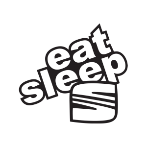 Стикер за кола - Eat Sleep Seat
