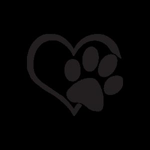Стикер за кола - I love Pets