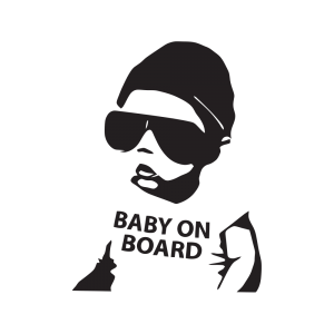 Стикер за кола Baby on Board 02
