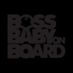 Стикер за кола - Boss Baby on Board