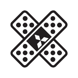 Стикер за кола - Лепенка mitsubishi