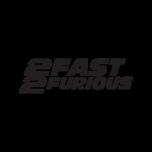 Стикер за кола - 2 Fast 2 Furious