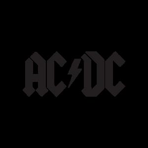 Стикер за кола - ACDC