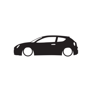 Стикер за кола - Alfa Romeo Mito 02