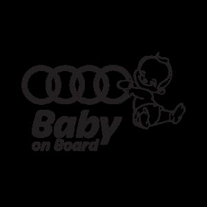 Стикер за кола Audi Baby on Board
