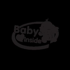 Стикер за кола Baby Angel Inside