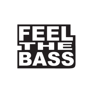Стикер за кола - Feel the Bass