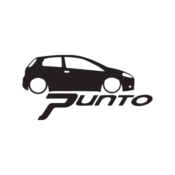 Стикер за кола Fiat Punto 02
