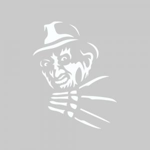 Стикер за кола - Freddy Krueger