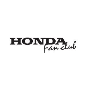 Стикер за кола - Honda Fan Club