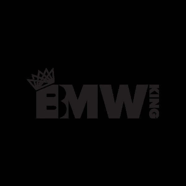 Стикер за кола BMW King