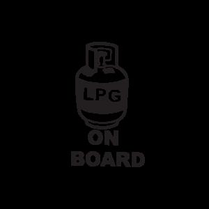 Стикер за кола - LPG On Board