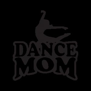 Стикер за кола - Dance Mom