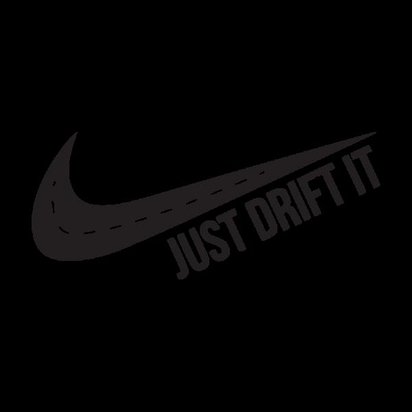 Стикер за кола - Just drift it