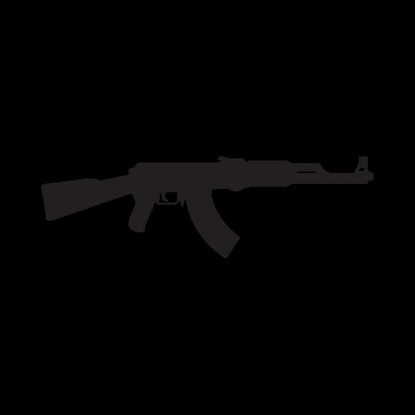 Стикер за кола - Калашников АК-47