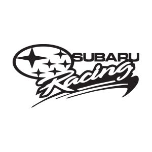 Стикер за кола - Subaru Racing