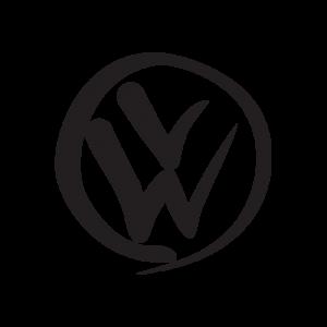 Стикер за кола - VW лого 12