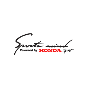 Стикер за кола - Sport Mind powered by Honda Sport