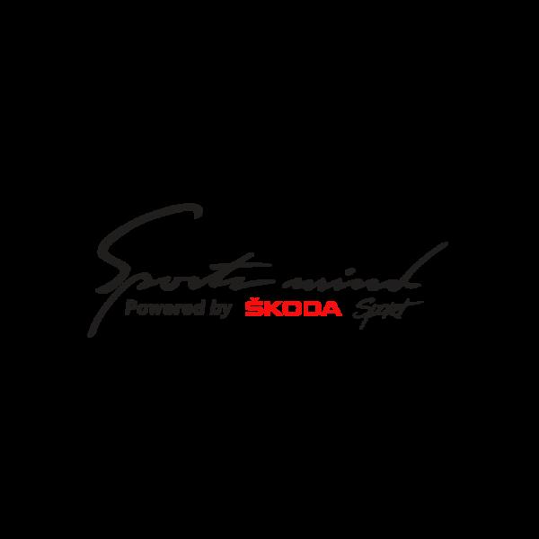 Стикер за кола - Sport Mind powered by Skoda Sport